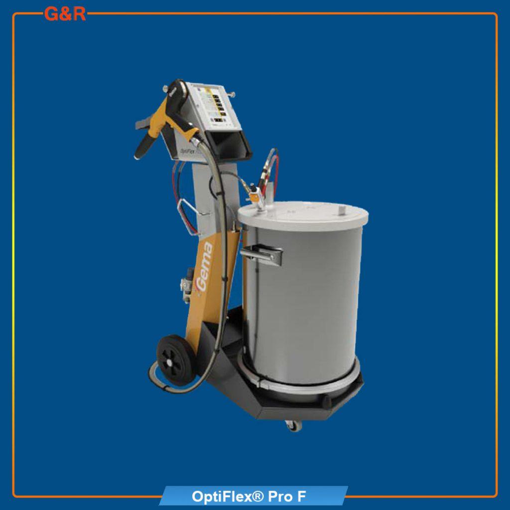 เครื่องพ่นสีฝุ่น OptiFlexPro-F