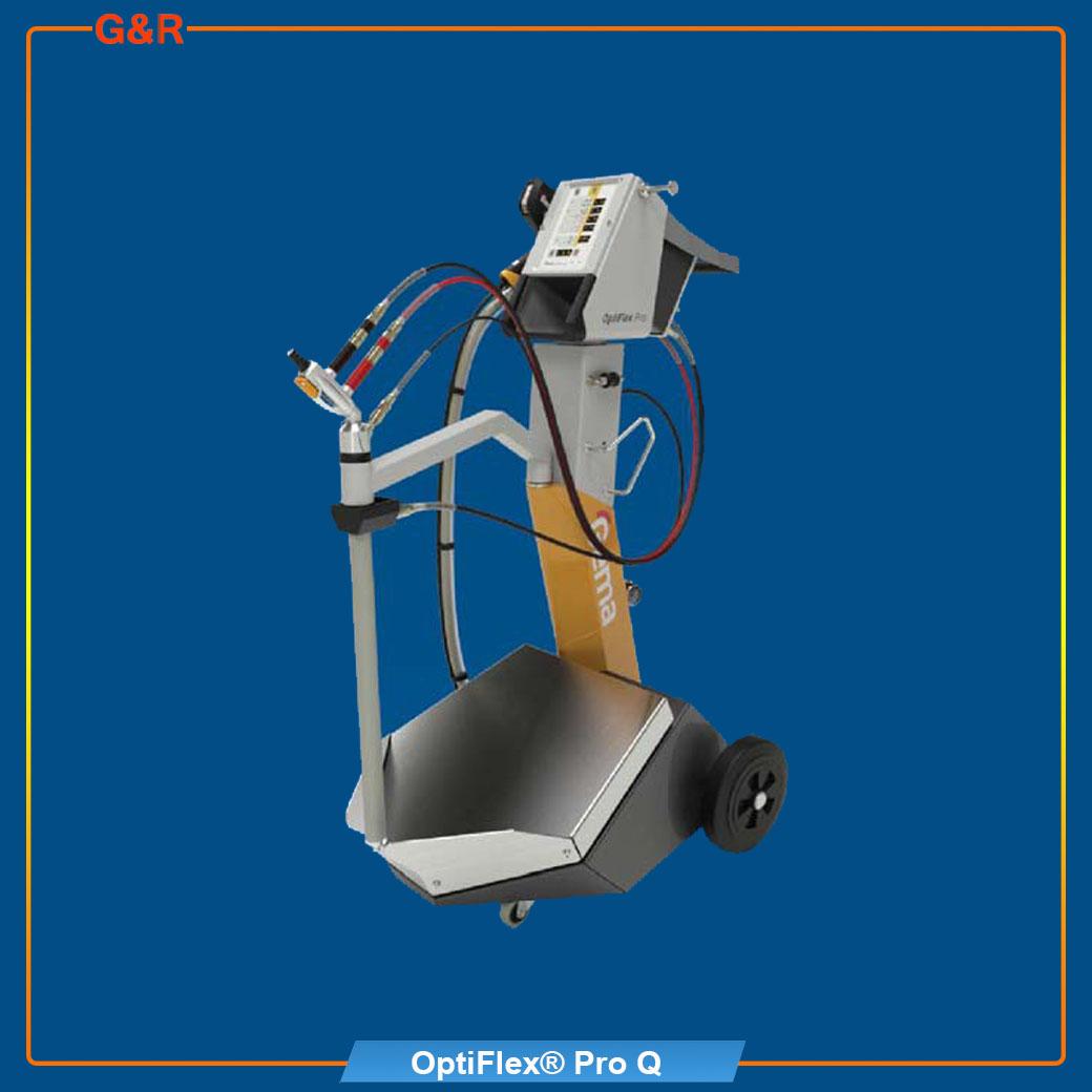 เครื่องพ่นสีฝุ่น OptiFlex Pro Q