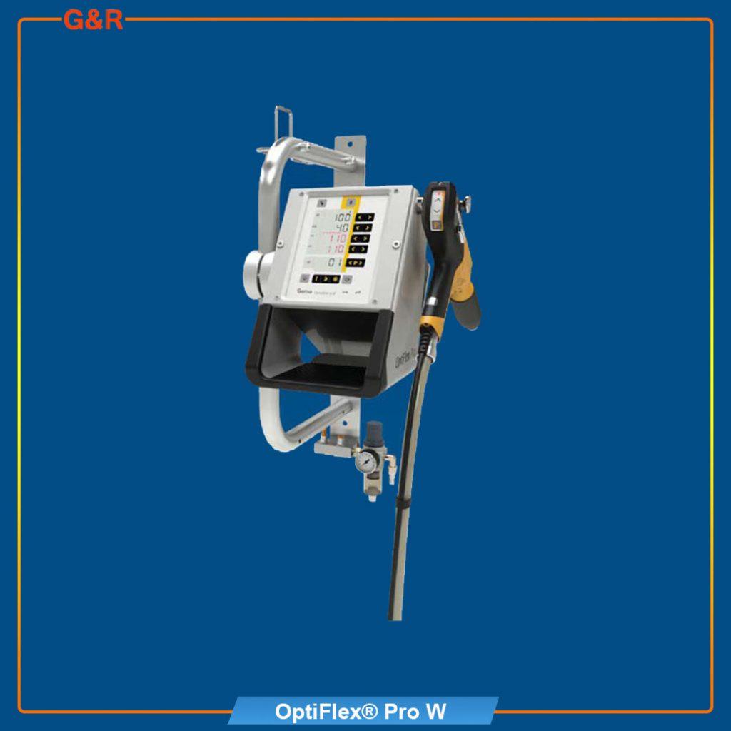 เครื่องพ่นสีฝุ่น OptiFlexPro-W